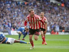 Aiden McGeady is set to return to the Sunderland squad for the visit of Wigan (Adam Davy/PA)