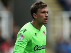 Sam Walker has joined Blackpool on an emergency loan from Reading (David Davies/PA)
