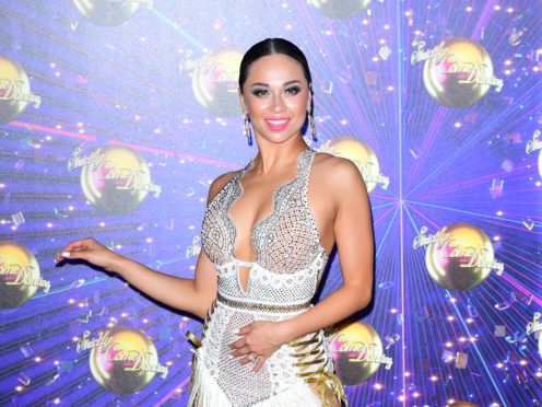 Strictly Come Dancing star Katya Jones joked her private life was more talked about than Brexit (Ian West/PA)