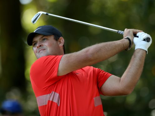 Race to Dubai leader Patrick Reed holds a two-shot halfway lead in the DP World Tour Championship (Bradley Collyer/PA)