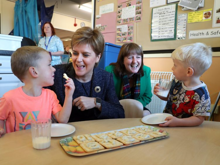 An extension of rates relief for nurseries has been announced (Andrew Milligan/PA)