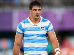 Argentina's Pablo Matera has been stripped of the captaincy due to offensive social media posts (Adam Davy/PA)