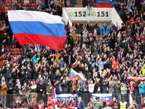 Russia have landed a two-year ban (Steven Paston/PA)