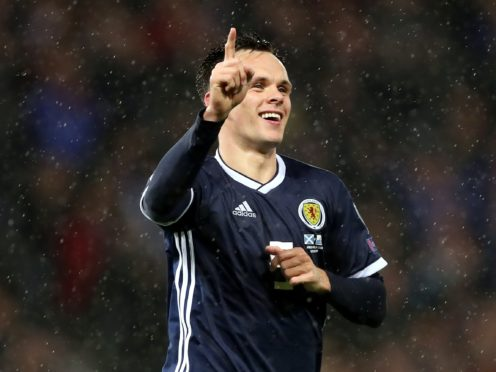 Scotland's Lawrence Shankland was back among the goals for Dundee United (Steve Welsh/PA)