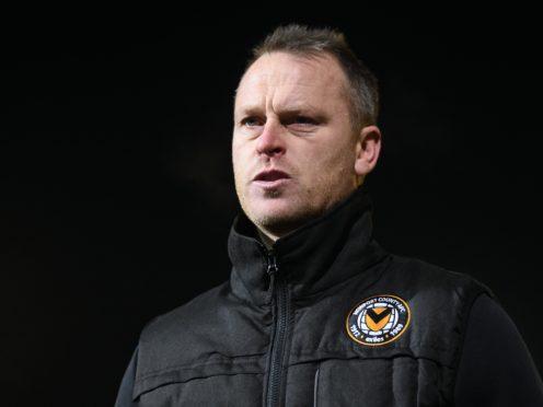 Newport boss Michael Flynn has options at his disposal (Joe Giddens/PA)