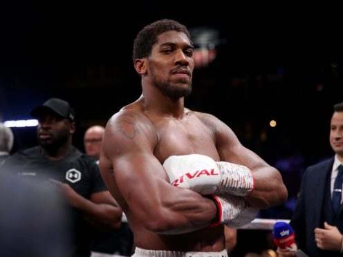 Anthony Joshua is ready to go to war against Kubrat Pulev on Saturday (Nick Potts/PA)