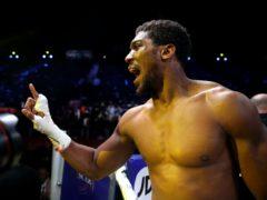 Anthony Joshua will look to defend his IBF, WBA, WBO & IBO titles on Saturday (Nick Potts/PA)