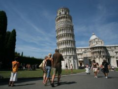 The leaning tower of Pisa (Martin Keene/PA)