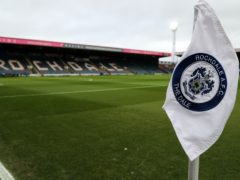 Rochdale's next two games have been called off after an outbreak of coronavirus (Richard Sellers/PA)