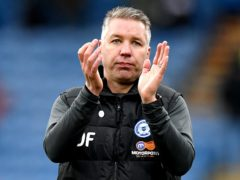 Peterborough manager Darren Ferguson praised hat-trick hero Jonson Clarke-Harris (Anthony Devlin/PA)