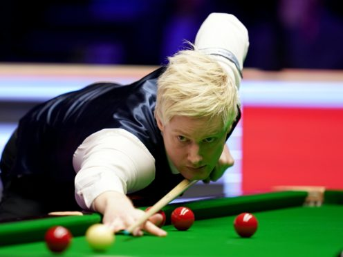 Neil Robertson beat Judd Trump to win the UK title (John Walton/PA)
