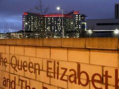 Queen Elizabeth University Hospital in Glasgow (Andrew Milligan/PA)