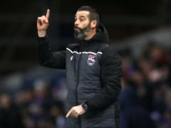 Ross County manager Stuart Kettlewell hopes his side will be on the rise this weekend (Jane Barlow/PA)