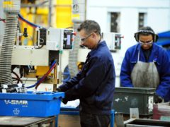 Manufacturing was in positive growth territory for the sixth consecutive month, according to the latest PMI data. (Rui Vieira / PA)