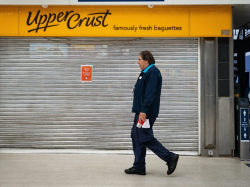 Upper Crust and Caffe Ritazza owner SSP has warned sales are set to plunge by 80% in its first quarter after swinging to a hefty annual loss due to the pandemic.