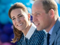 The Duke and Duchess of Cambridge are to travel by royal train thanking communities for their efforts during the pandemic (Joe Giddens/PA)