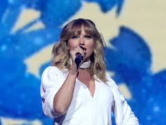 Taylor Swift donated 13,000 dollars (£9,700) each to two mothers struggling amid the pandemic (Isabel Infantes/PA)