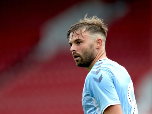 Coventry striker Matty Godden has missed the past seven games with a foot injury (Bradley Collyer/PA)