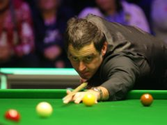 Ronnie O'Sullivan seemed confused by the snooker rule-book (Nigel French/PA)