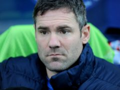 Barrow have parted company with manager David Dunn (Daniel Hambury/PA)
