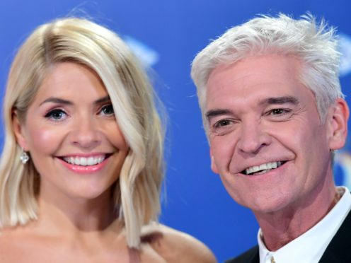 Holly Willoughby and Phillip Schofield join an all-star cast (Ian West/PA)