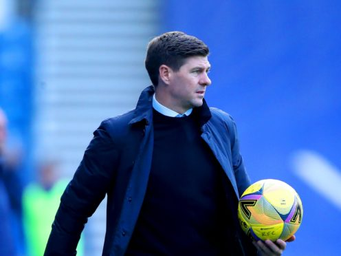 Steven Gerrard wants to see a reaction when Rangers face Motherwell after their first defat of the season (Ian MacNicol/PA)