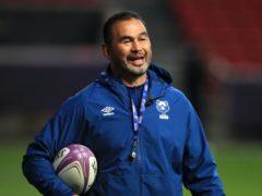 Bristol rugby director Pat Lam has his sights on European silverware (Adam Davy/PA)