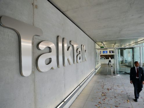 TalkTalk has agreed a takeover deal with Toscafund and Penta (John Stillwell/PA)