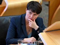 Ruth Davidson said the law needed to be changed (Jeff J Mitchell/PA)