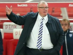Gillingham manager Steve Evans was full of praise for his side's display (NigeL French/PA).
