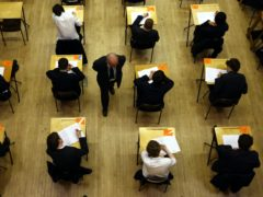Nicola Sturgeon said a decision on whether to cancel all exams could be taken earlier than February (David James/PA)
