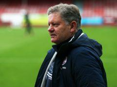 Crawley manager John Yems was full of praise for Tom Nichols (Kieran Cleeves/PA)