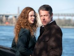Nicole Kidman as Grace Fraser and Hugh Grant as Jonathan Fraser in The Undoing (Niko Tavernise/HBO/PA)