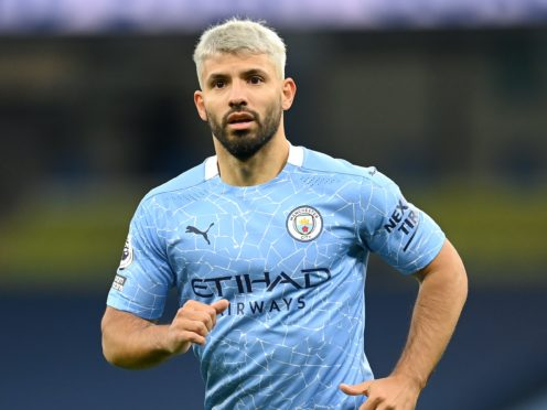 Fulham will not have to worry about Sergio Aguero this weekend (Michael Regan/PA)