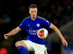 Jonny Evans is in talks over a new deal at Leicester. (Mike Egerton/PA)