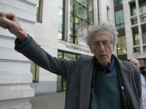 Piers Corbyn, brother of former Labour leader Jeremy Corbyn (Luciana Guerra/PA)