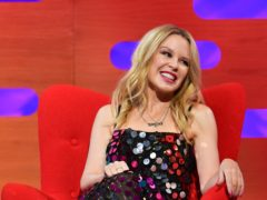 Kylie Minogue revealed she is looking forward to a 'cosy' Christmas with boyfriend Paul Solomons (PA Media on behalf of So TV)