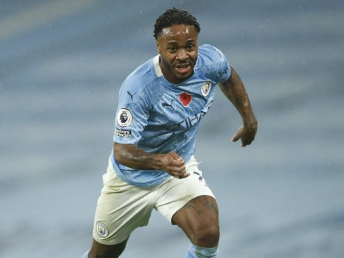 Raheem Sterling is looking forward to Manchester City's festive games (Clive Brunskill/PA)