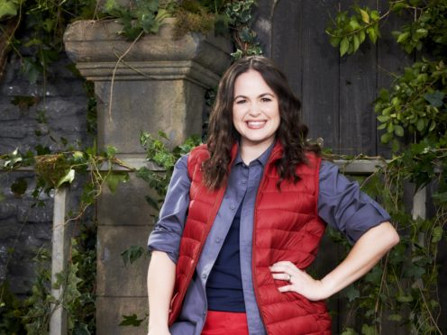 Giovanna Fletcher in I'm A Celebrity … Get Me Out Of Here! (ITV/PA)