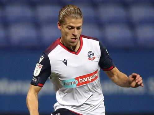 Lloyd Isgrove is back to full fitness for Bolton (Martin Rickett/PA)