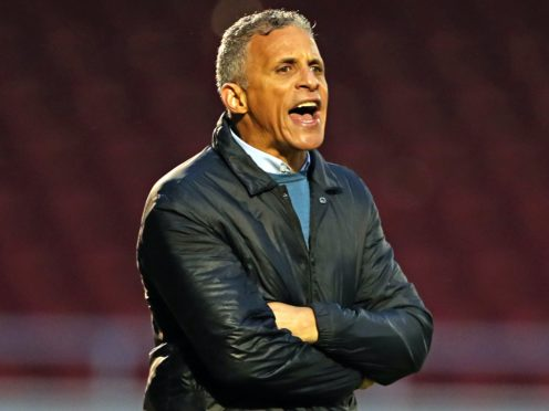 Keith Curle praised Northampton's defensive resolve (Bradley Collyer/PA)