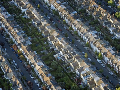 Mortgages worth some £78.9bn were agreed in the third quarter of 2020 – the highest total since 2007, according to the Bank of England (Victoria Jones/PA)