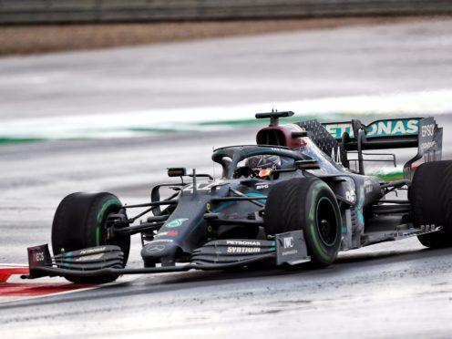 Lewis Hamilton (GBR) Mercedes AMG F1 during the Turkish Grand Prix at Istanbul Park, Turkey.