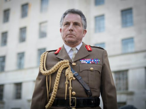 General Sir Nick Carter was delivering his Royal United Services Institute Christmas lecture (Stefan Rousseau/PA)