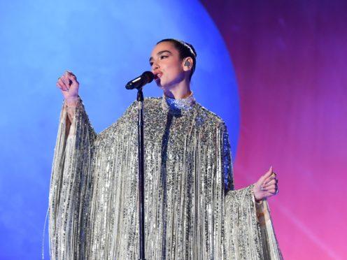 Dua Lipa will perform in the New Year's Eve celebration (Matt Crossick/PA)