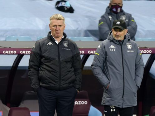 Aston Villa manager Dean Smith knows his team have improved (Tim Keeton/PA)