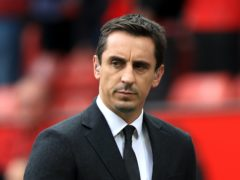 Gary Neville says football must continue amid a surge in coronavirus (Mike Egerton/PA)