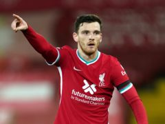 Andy Robertson believes Liverpool's late win over Tottenham can provide a momentum boost (Jon Super/PA)