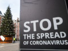 Millions of people across England are ending the year under the toughest coronavirus restrictions (Dominic Lipinski/PA)