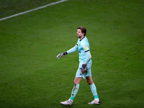 Dutchman Tim Krul hobbled off against Stoke last month (Nick Potts/PA)